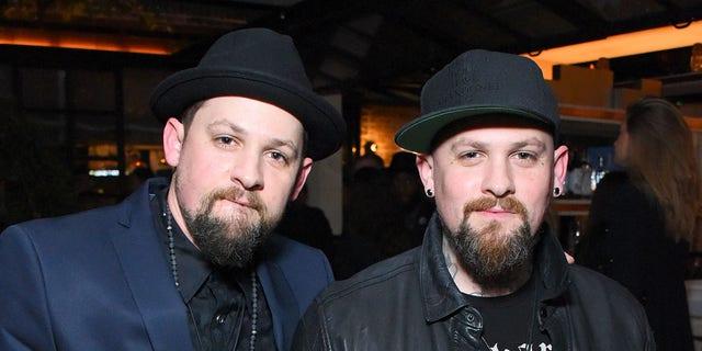 Good Charlotte musicians Joel (left) and Benji (right) Madden.