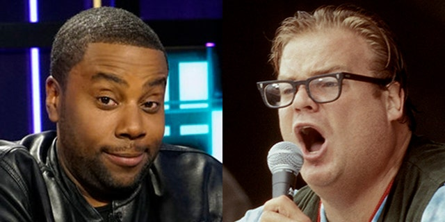 'Saturday Night Live' star Kenan Thompson, left, looked back on working with Chris Farley in January 1997 and admitted he learned a lot from the late great comedian.