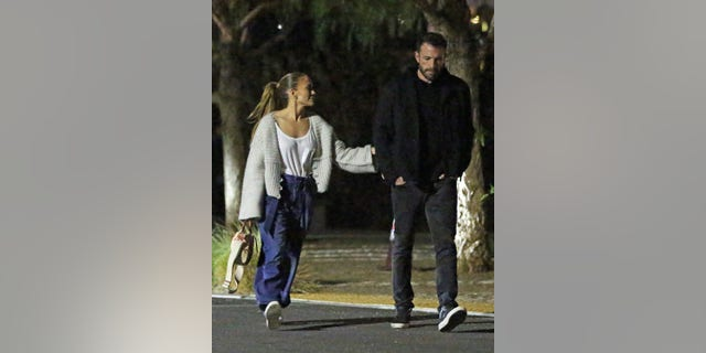 Jennifer Lopez and Ben Affleck were spotted out on a movie date with their kids.
