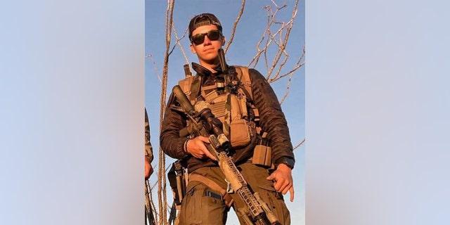 Marine Corps Cpl. 헌터 로페즈