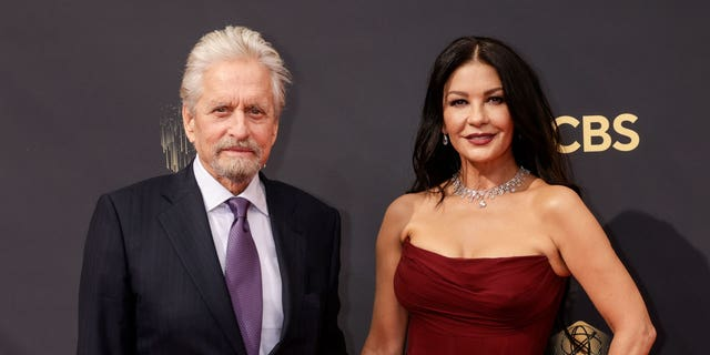 Michael Douglas and Catherine Zeta-Jones wished each other a happy birthday in sweet Instagram tributes. They share the same birthday, Sept. 25.