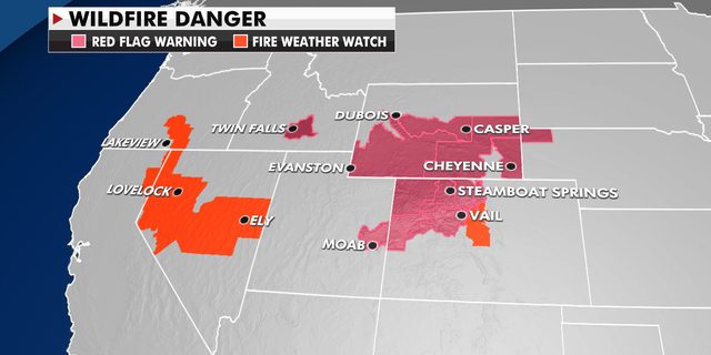Wildfire danger in the West