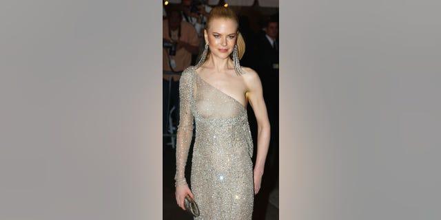 La actriz Nicole Kidman llega a
