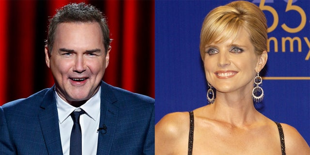 Norm Macdonald poked fun at Courtney Thorne-Smith during a shared interview on 'Late Night with Conan O'Brien.' (Getty Images)