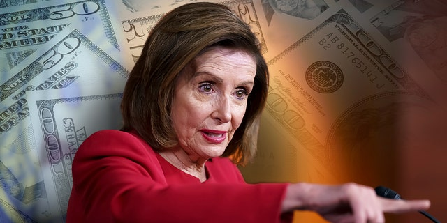 In this Sept. 8, 2021 photo, Speaker of the House Nancy Pelosi, D-Calif., meets with reporters to discuss President Joe Biden's domestic agenda at the Capitol in Washington. (AP Photo/J. Scott Applewhite)