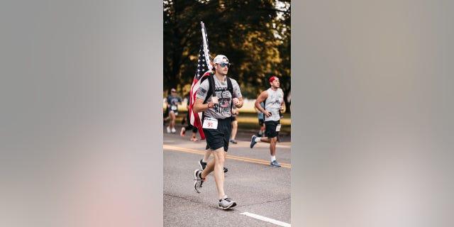 9/11 Heroes Run 5K race in Philadelphia, Pennslyvannia on Sept. 12, 2021.