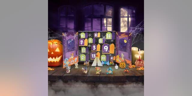 The Jazwares Pokémon Halloween 2021 13-Day Figure Calendar retails for $19.99.