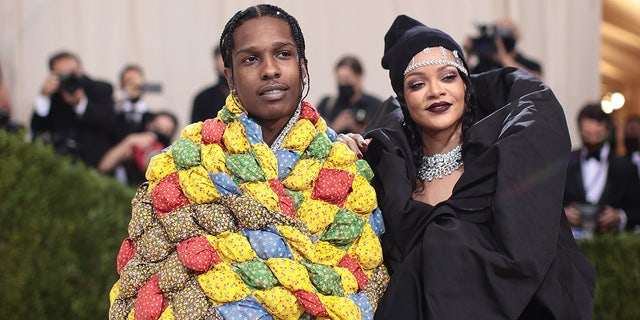 Rihanna and A$  AP Rocky made their red carpet debut at the 2021 met Gala.