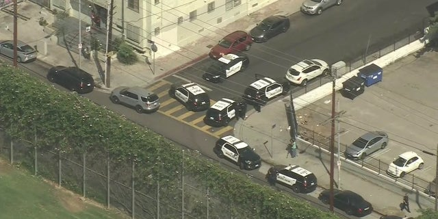 Police responding to a reported shooting outside Santee High School.