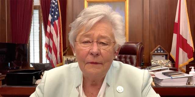Republican Alabama Gov. Kay Ivey speaks to Fox News about Big Tech and her opposition to President Joe Biden's proposed coronavirus vaccine mandates.