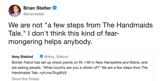 Amid Texas abortion law uproar, Brian Stelter deletes 2018 tweet denouncing 'The Handmaid's Tale' comparisons