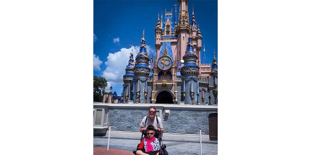 Tricia and Mason Proefrock recently traveled to Walt Disney World's Magic Kingdom park. The pair have visited the theme park multiple times with their family in the last three years or so. During their visits, Tricia says park staff advise the family to park their van in two spots when ramp-accessible ones aren't available.