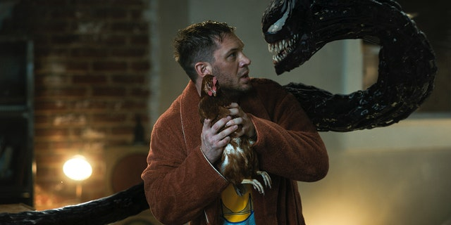Tom Hardy in 'Venom: Let There Be Carnage.'
