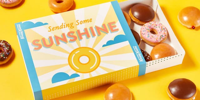In honor of World Gratitude Day - September 21 - Krispy Kreme will gift a dozen doughnuts to anybuyer who gifts a dozen to someone they appreciate.