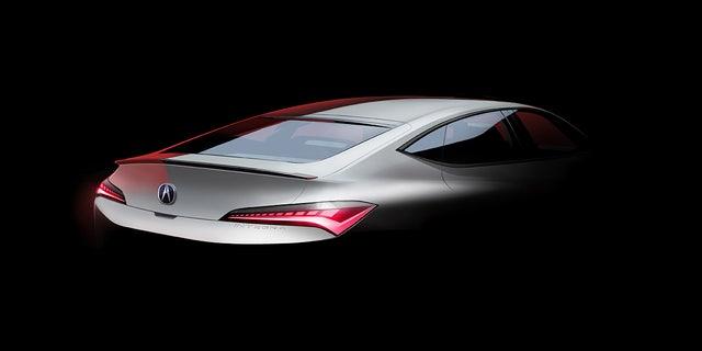 The Acura Integra name is returning on an four-door liftback.