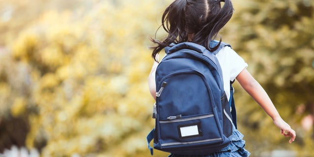 Some alternatives to backpacks with names on them include key chains, labeling on the inside of the bag, color coding or personalizing with symbols.