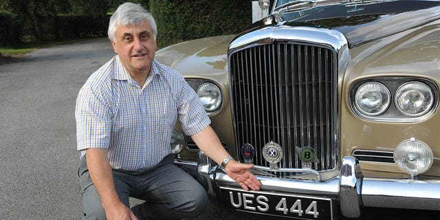 Ron Hughes spent 20 years trying to track down the Bentley for his father.