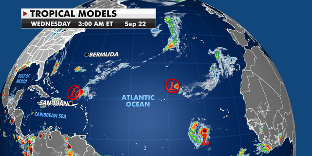 Tropical models over the Atlantic