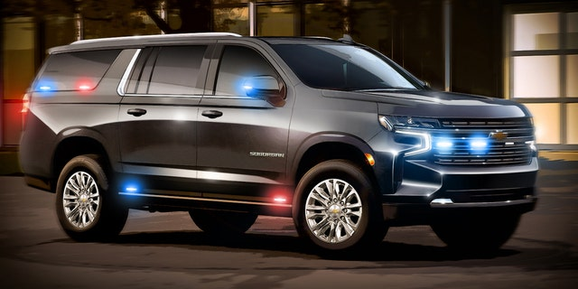 This rendering offers a suggestion of what the heavy duty Suburban may look like.