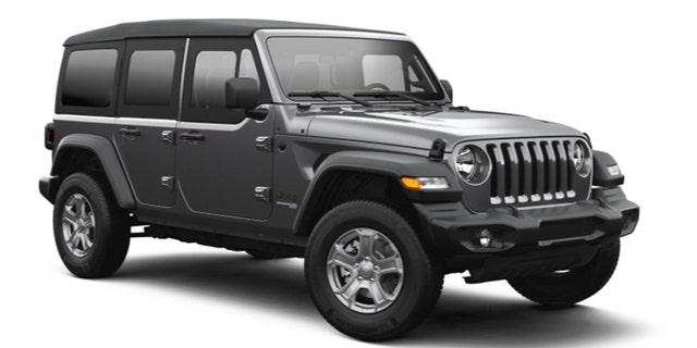 Here's what the half-doors look like on the Wrangler.