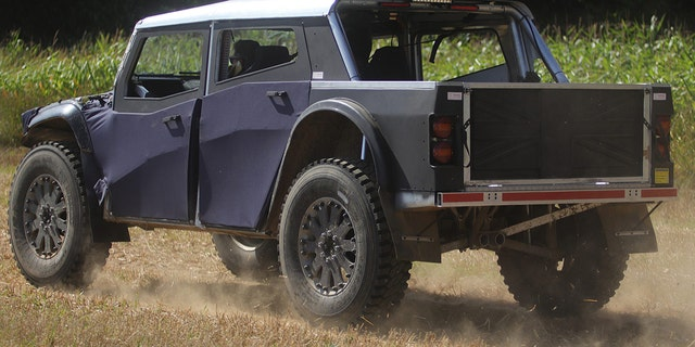 The Fering Pioneer features a fully independent suspension system.