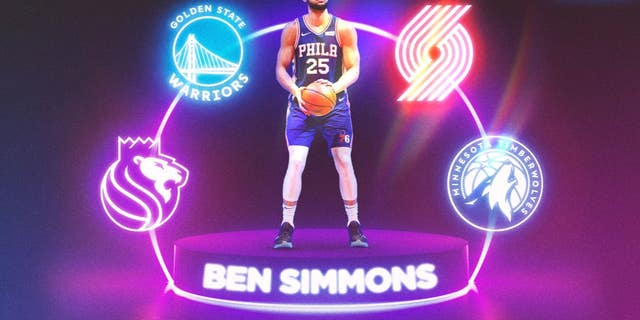 NBA odds: Golden State Warriors, Portland Trail Blazers among favorites to land Ben Simmons