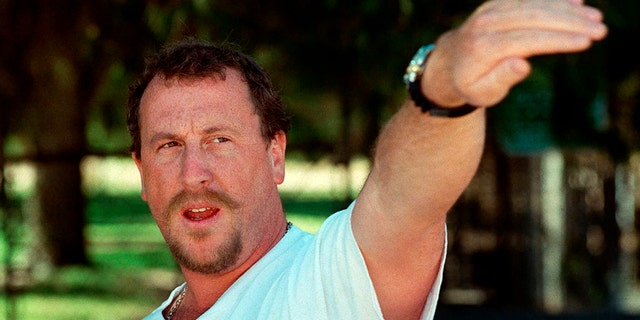 George Holliday, the Los Angeles plumber who shot grainy video of four white police officers beating Black motorist Rodney King in 1991, has died of complications of COVID-19, a friend said Monday. (AP Photo/E.J. Flynn, File)