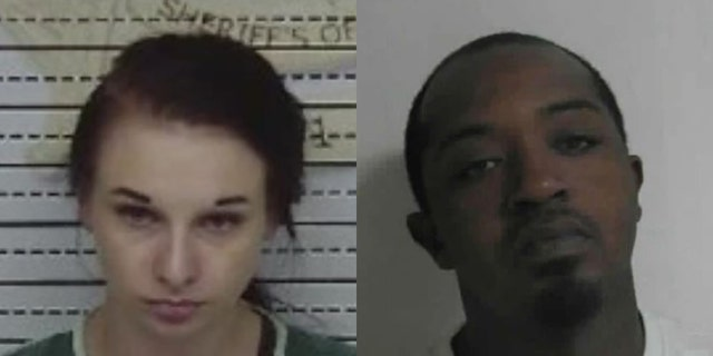 Jazzmine Hall, 27, and Curtis Smith, 38, have been arrested in connection with four shooting deaths in Tennessee, authorities say. (McMinn County Sheriff's Office)