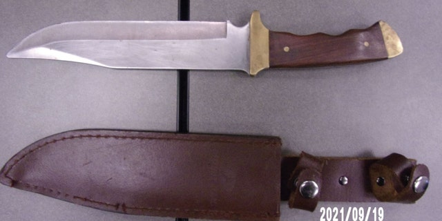 Police confiscated the knife allegedly used to accidentally stab the boy. (Berea Police Department)