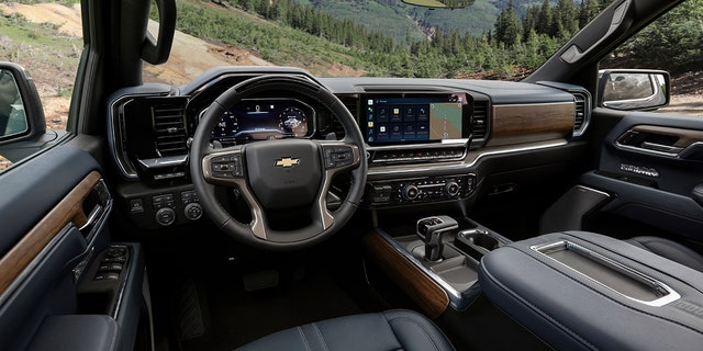 The High Country features high-end leather, open-pore wood and stainless steel trim.
