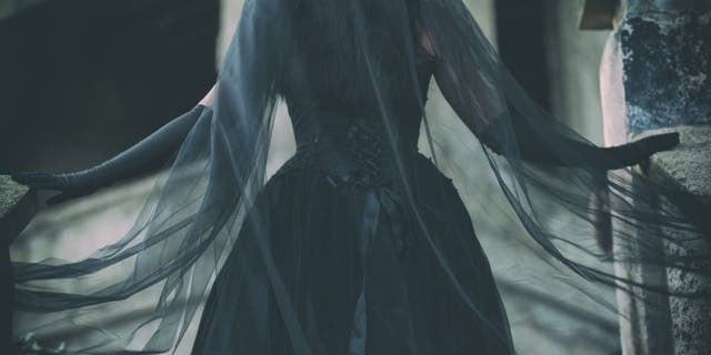 Search engine data on Google Trends shows online queries about black wedding dresses have more than quadrupled from January 2004.