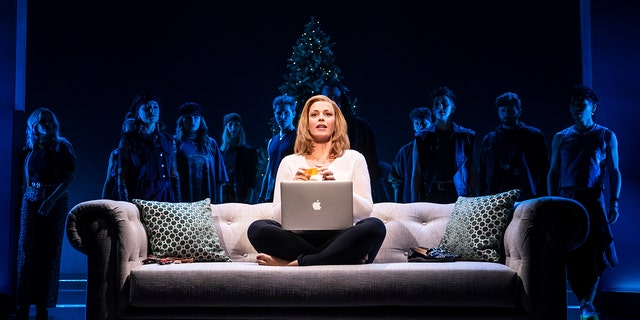 """This image released by Vivacity Media Group shows Elizabeth Stanley in a scene from the musical """"Jagged Little Pill."""""""