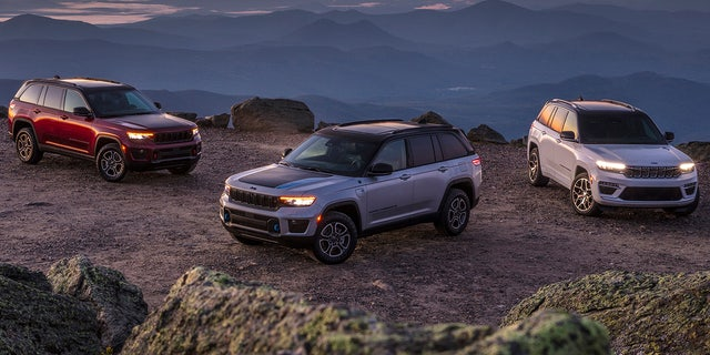 The Grand Cherokee Trailhawk, Grand Cherokee Trailhawk 4xe and Jeep Grand Cherokee Summit Reserve 4xe are among the models available.