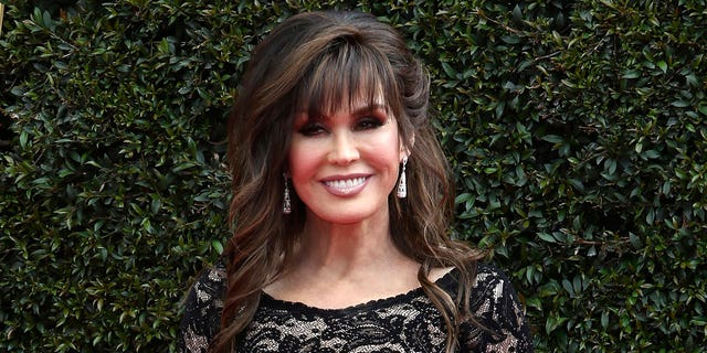 """Marie Osmond appears at the 45th annual Daytime Emmy Awards in Pasadena, Calif., on April 29, 2018. Osmond's latest album, """"Unexpected,"""" will be released on Dec. 10. (Photo by Willy Sanjuan/Invision/AP, File)"""