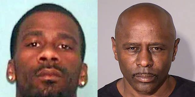 Linked to the Wisconsin SUV murders are Antoine Suggs, 38, and Darren McWright (aka Darren Osborne), 56, authorities say. (Dunn County Sheriff's Office/Ramsey County Sheriff's Office)