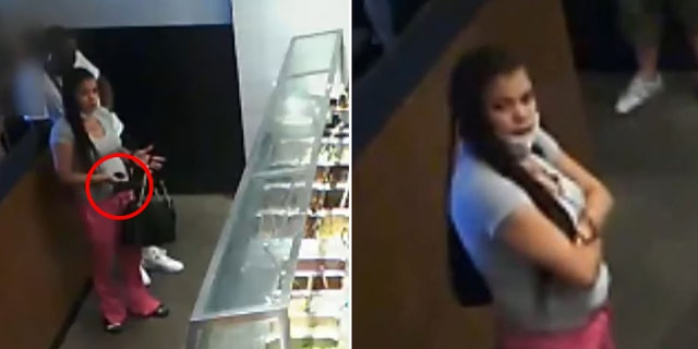 """The unidentified female customer pulled a gun on a Chipotle cashier in Philadelphia on Saturday and demanded """"somebody better give me my food,"""" la policía dijo."""