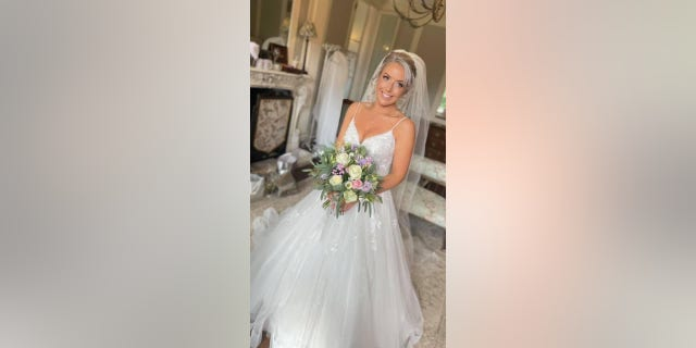 Lydia Evans-Hughes was stranded on the side of a highway on the way to her wedding because the car she was riding in broke down last week.