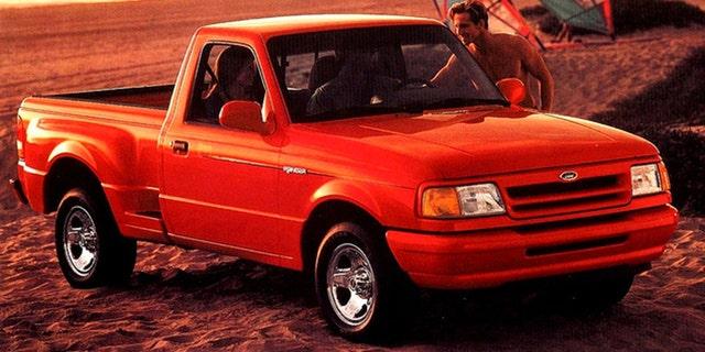 La Ranger Splash del 1993 presentava una carrozzeria svasata.