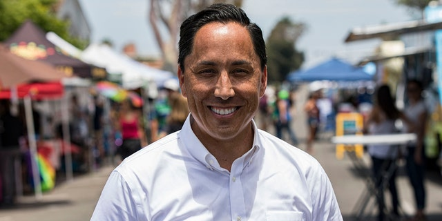 San Diego Mayor Todd Gloria is seen July 10, 2021. (Getty Images)