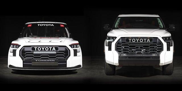 2022 Toyota Tundra TRD Pro NASCAR race vehicle introduction