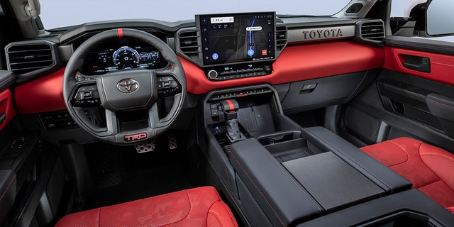 The TRD Pro gets unique interior and exterior treatments.