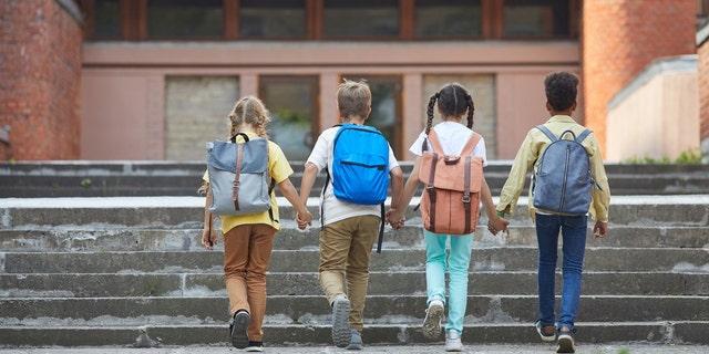 The NCMEC advises parents to not let their children walk to or from school or the bus stop alone. Rather, the center recommends at least having their child travel with other children.