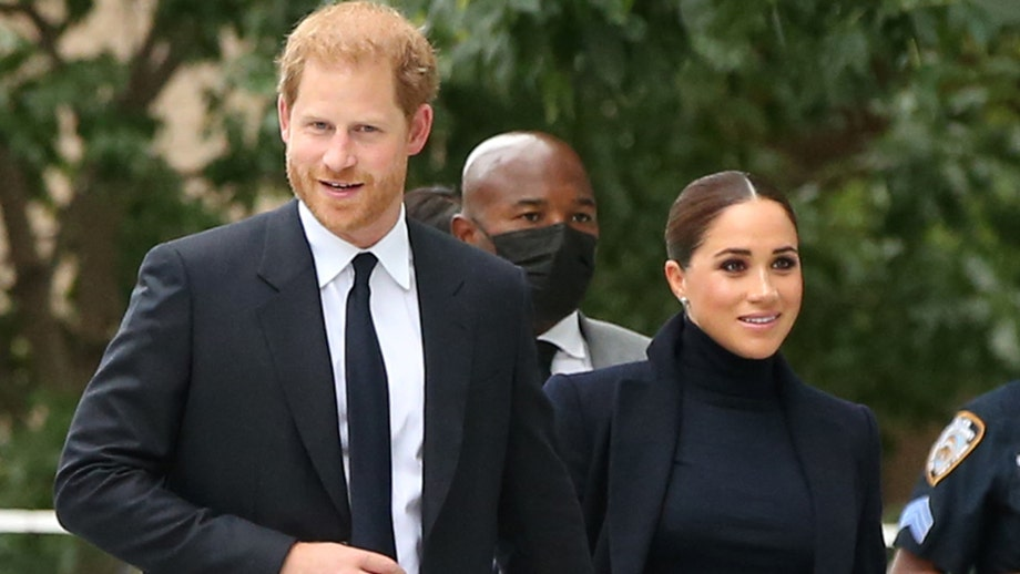 Meghan Markle and Prince Harry visit school in Harlem, read to children