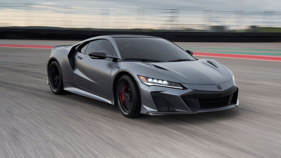 American-made $171K Acura NSX Type S supercar sold out for 2022