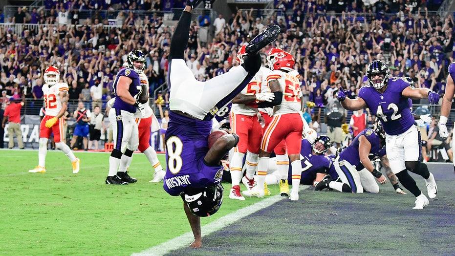 Ravens' Lamar Jackson leads major victory over Chiefs, snaps Patrick Mahomes' September win streak