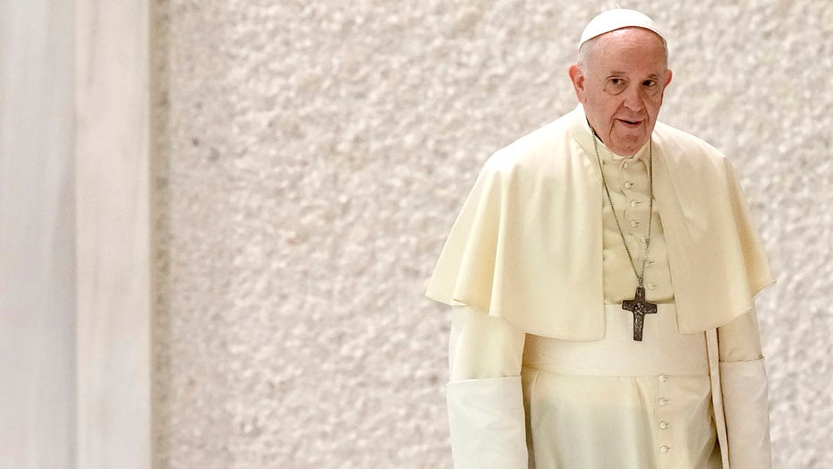 Pope inadvertently quotes Putin to chide West's Afghan war