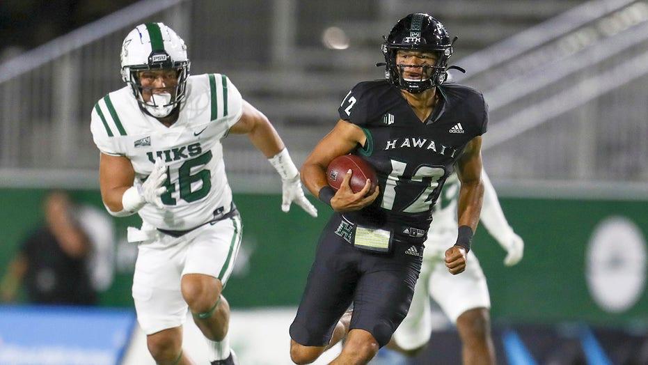Cordeiro, Parson help Hawaii beat Portland State 49-35