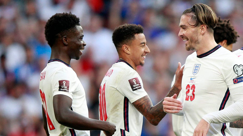 Saka feels the England love with scoring return to Wembley