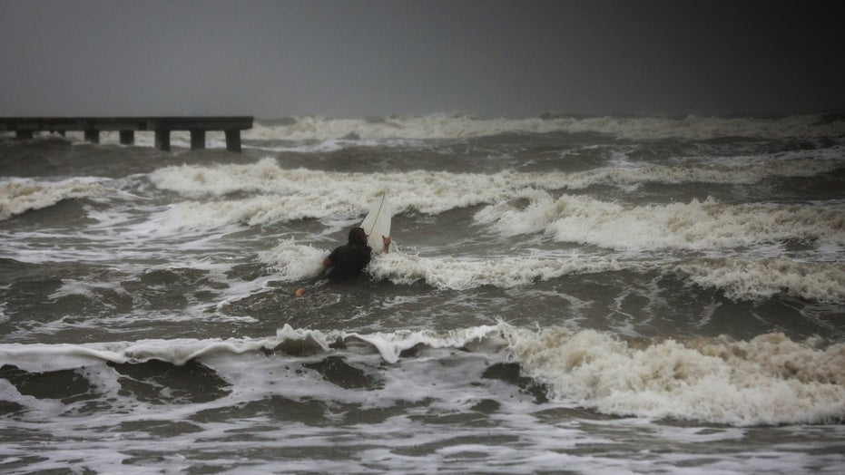 Hurricane Nicholas makes landfall near Galveston, Texas
