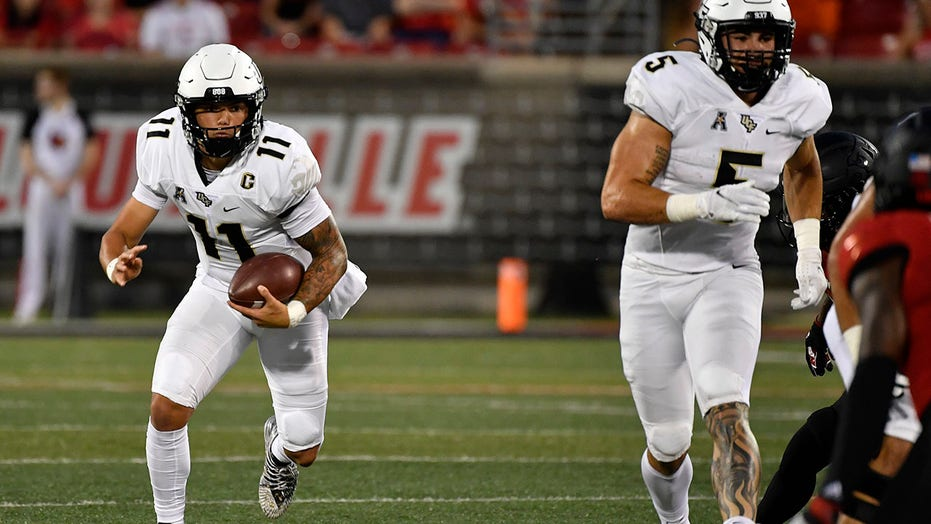 UCF QB Gabriel out indefinitely with fractured collarbone